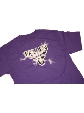 TSHIRTS   Fallen charged purple
