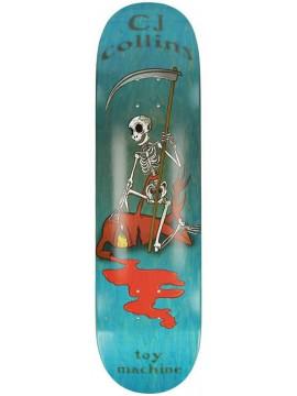 DECKS Toy machine Colins reaper skeleton (grip compris)